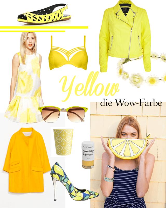 Gelb - die Trendfarbe 2014.