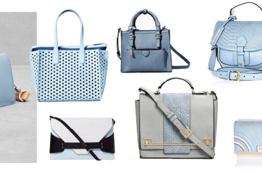 Himmelblaue Bags: Von Heiter bis Wolkig