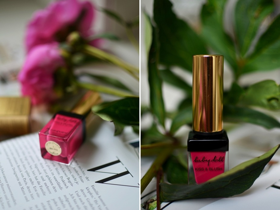 Yves Saint Laurent-Kiss and Blush-Babydoll-Lips and Cheeks-Review-Saint Laurent-Lipstick-Fuchsia-Matte-Pink-Puppenzirkus (2)-tile