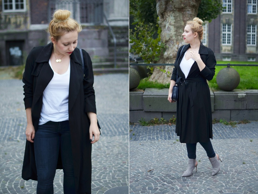 Outfit-Puppenzirkus-Editors-Style-Basics-White-V-Neck-Shirt-Business-Look-Office-Trenchcoat (3)