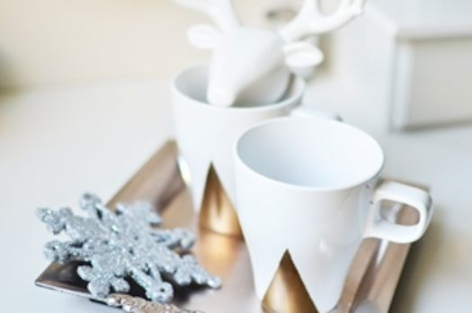 Gift Guide #6: Geometric Mugs DIY