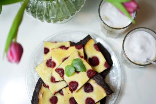 Himbeer Brownies zum Valentinstag