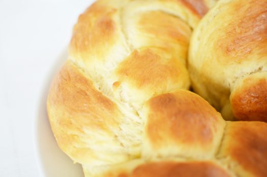 Rezept: Hefekranz zu Ostern