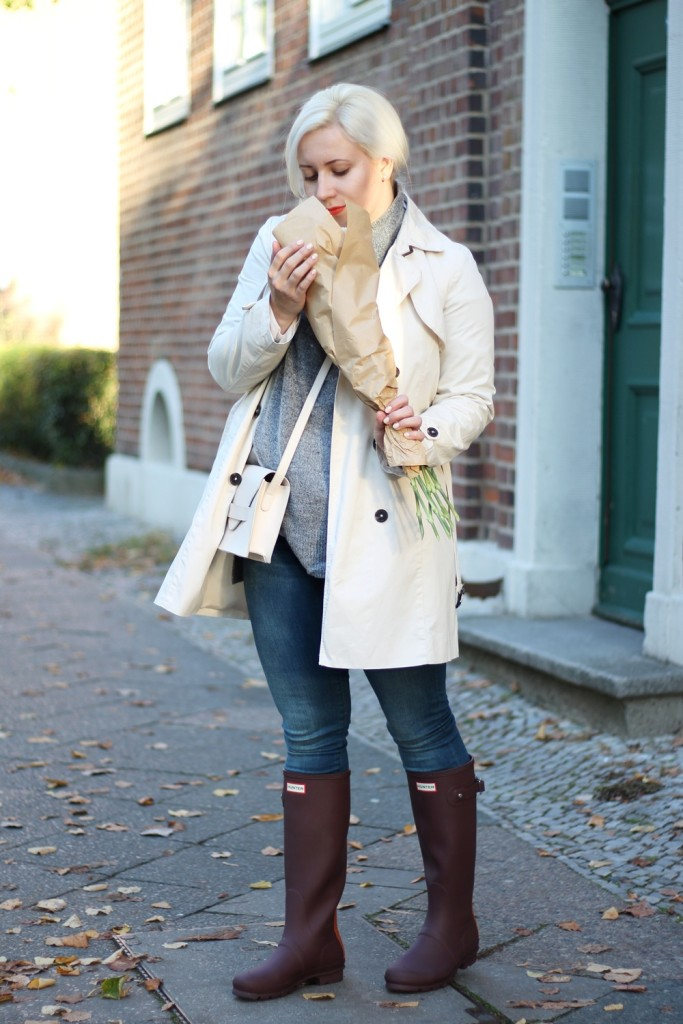 rollkragen-outfit-fashionblogger-puppenzirkus-hunter-boots-turtleneck-grau