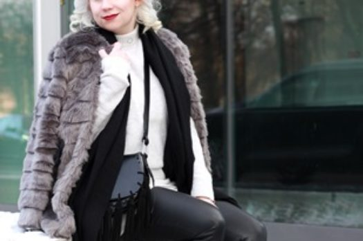 Outfit   BFW Day 1   Reebok Classic & Fake Fur
