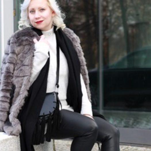Outfit | BFW Day 1 | Reebok Classic & Fake Fur | Alexandra