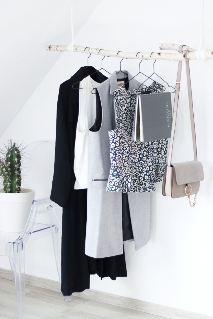 DIY: Garderobe aus Birkenstamm » alexandrawinzer.com