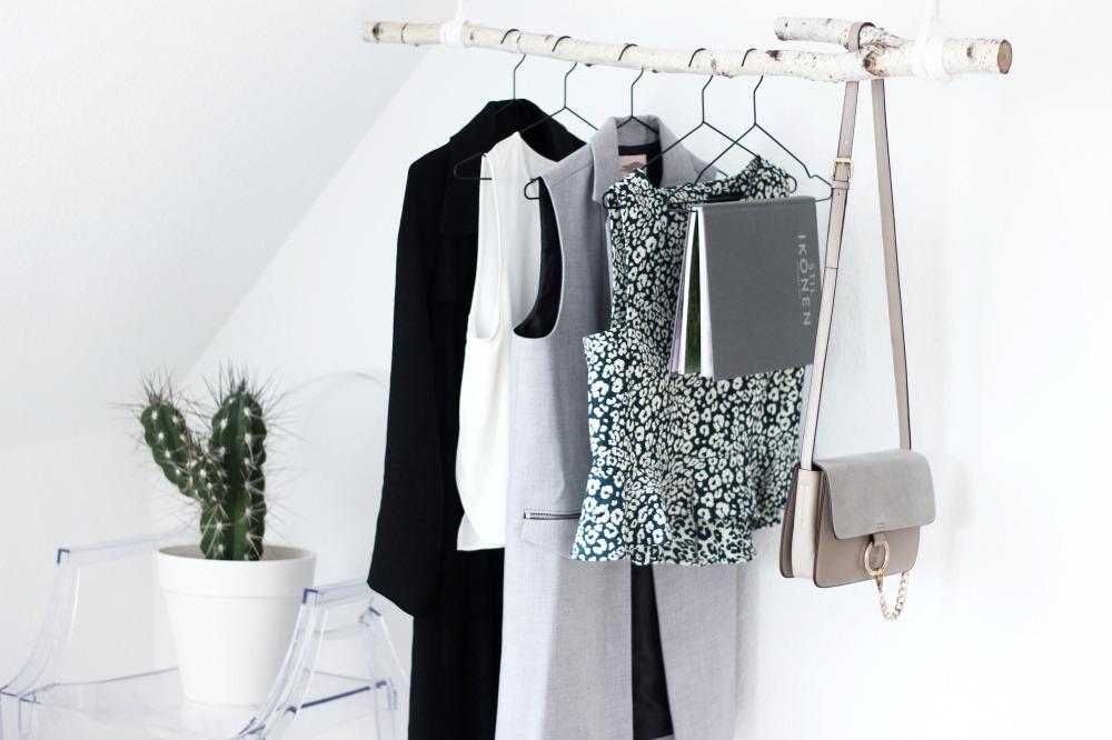 Diy Kleiderstange diy garderobe aus birkenstamm puppenzirkus