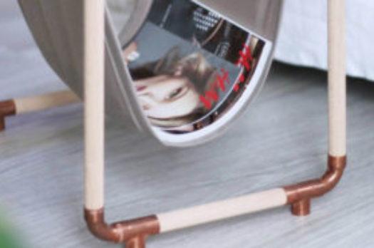 DIY: Zeitungsständer aus Kupferrohr