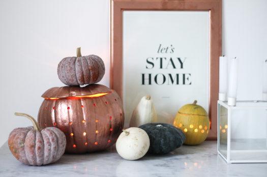 DIY: Kürbislaterne für Halloween