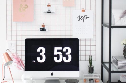 Zuhause Arbeiten: Inspirierendes Home-Office