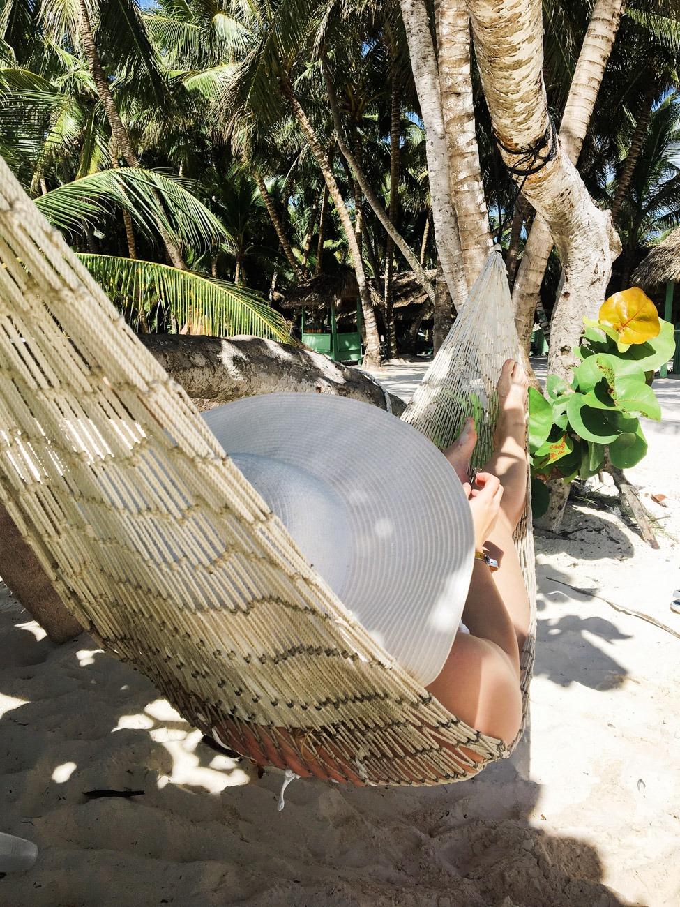 Entspannung zwischen den Palmen