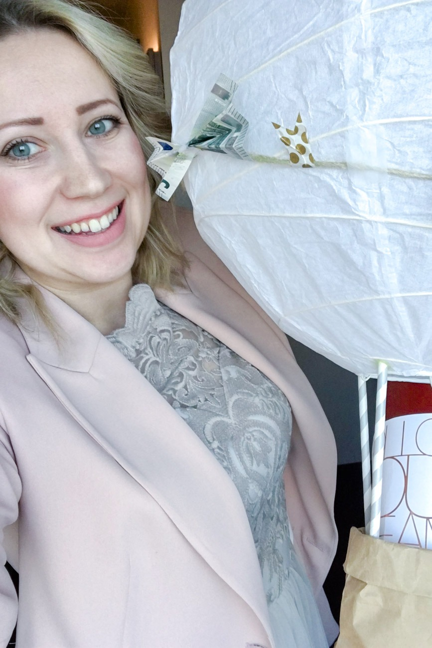Diy Heissluftballon Geldgeschenk Fur Die Hochzeit Puppenzirkus