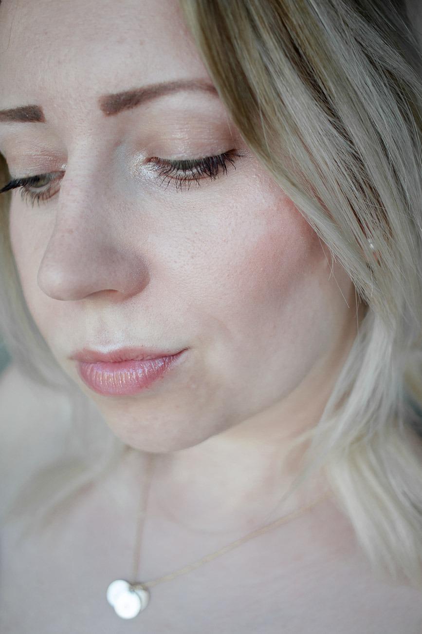 Beauty Look Nummer 1: Sanfter Pfirsichlook