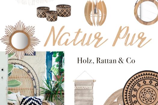 Natur Pur: Interiorlieblinge aus Jute, Rattan & Co