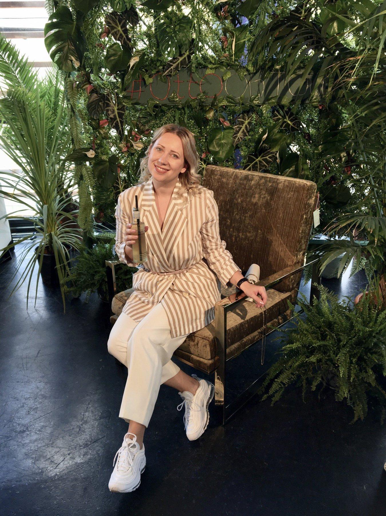 Gemeinsam mit Weinsponsor Bree bei der Beauty & Fashion Lounge am Potsdamer Platz