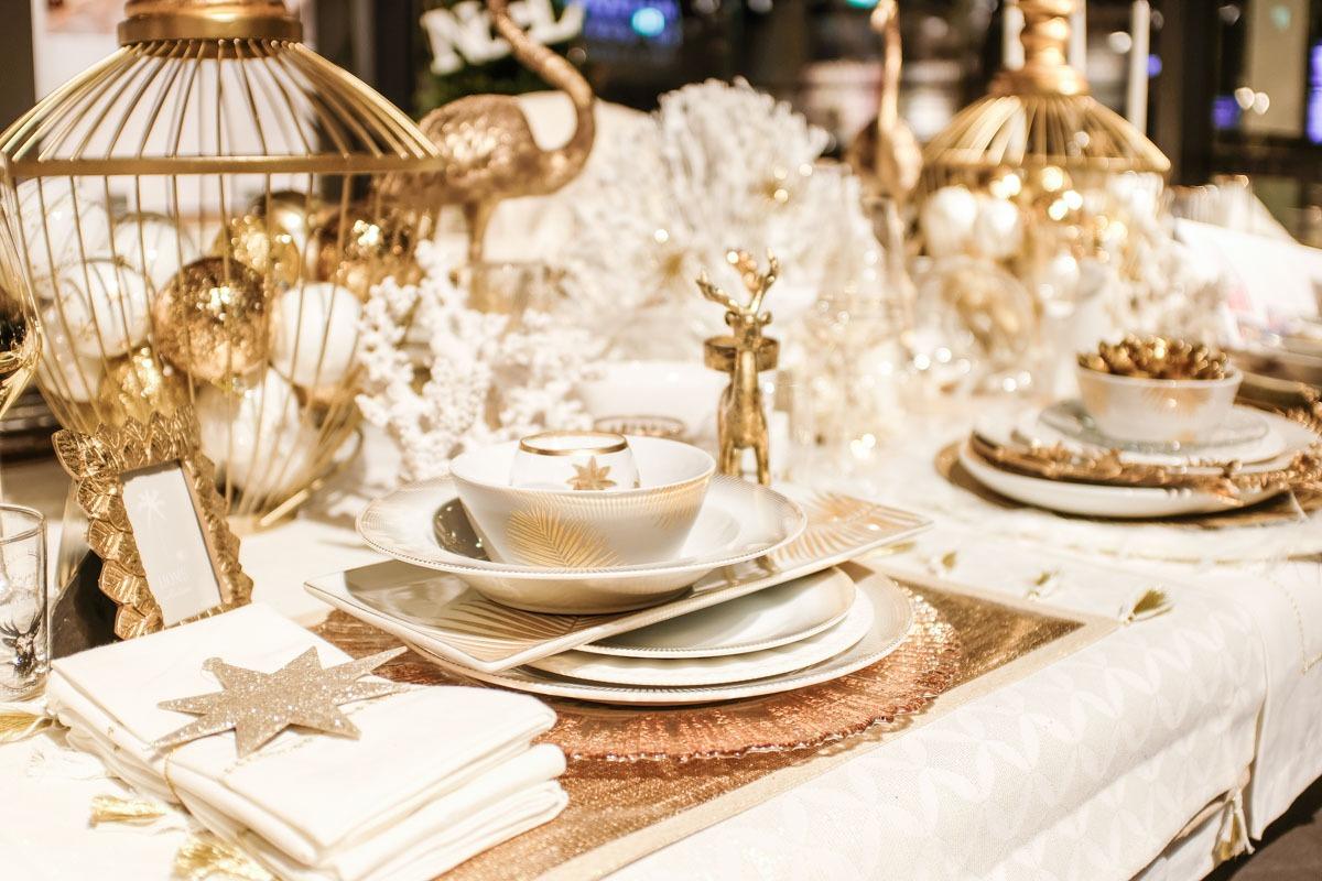 Opening Maisons du Monde Berlin Store in Steglitz: Festlich gedeckter Tisch bei Maisons du Monde