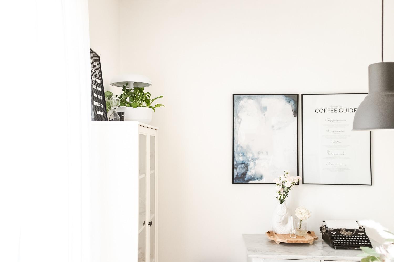 Mein kleiner Kräutergarten: perfekt eingefügt in unser helles Interior