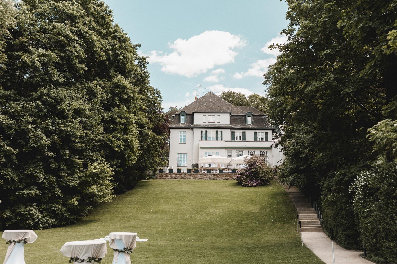 Die Villa Blumenfisch in Berlin als Hochzeitslocation