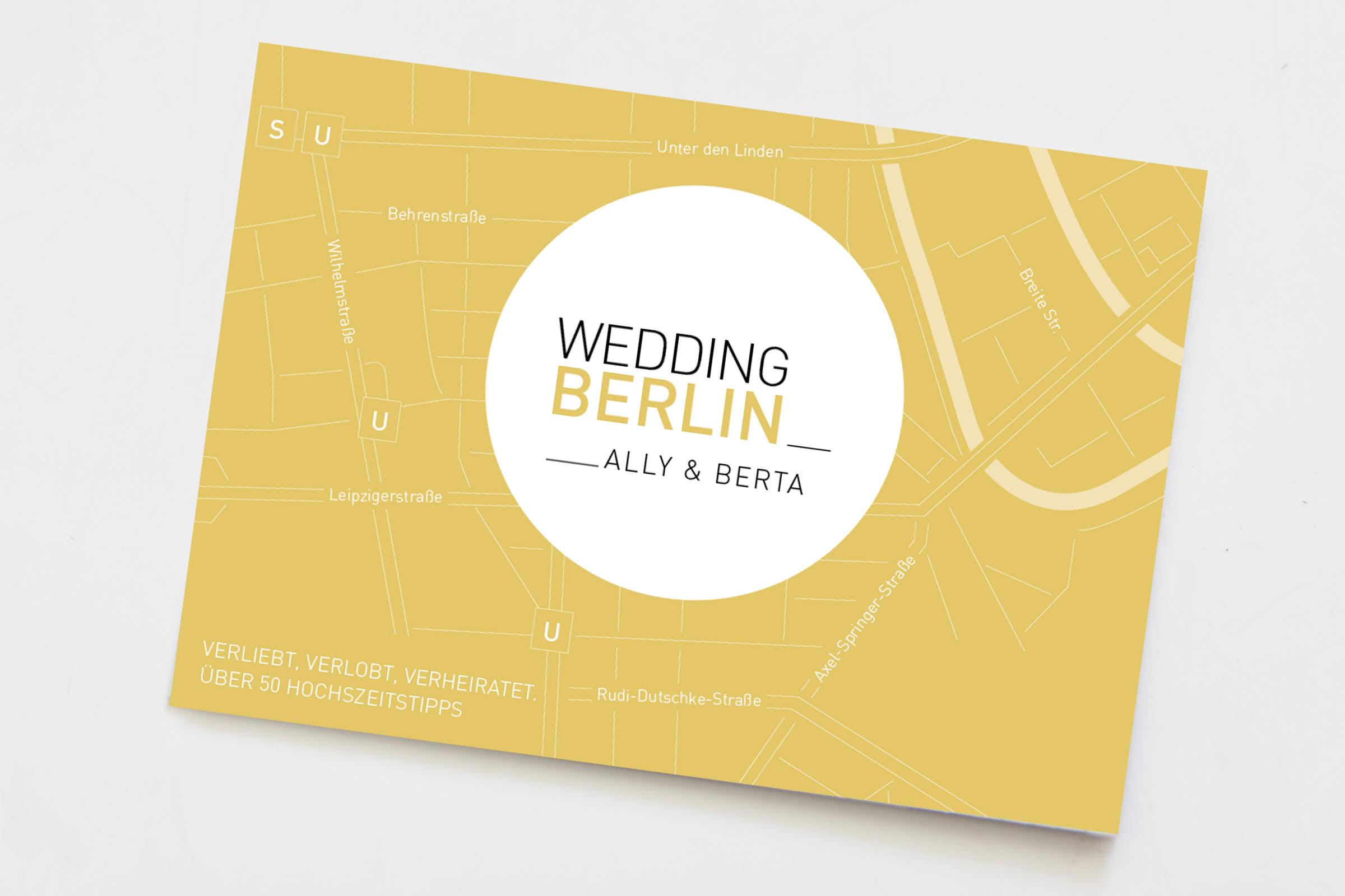 WeddingBerlin Map von Ally und Berta: die besten Wedding Spots in Berlin