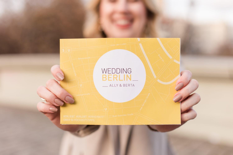Ab Januar 2019 erhältlich: WeddingBerlin - der Hochzeitsführer für Berlin