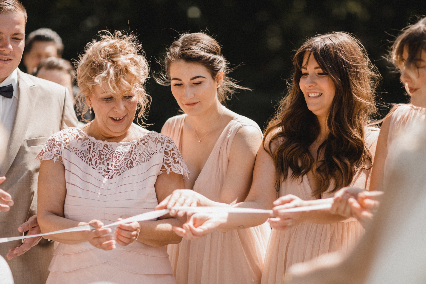 Das Ringritual bei der Zeremonie