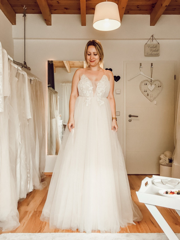 Tülltraum als Brautkleid bei der Brautkleidsuche