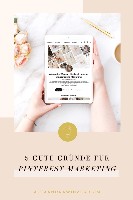 Pinterest Marketing 2020 Gute Gründe