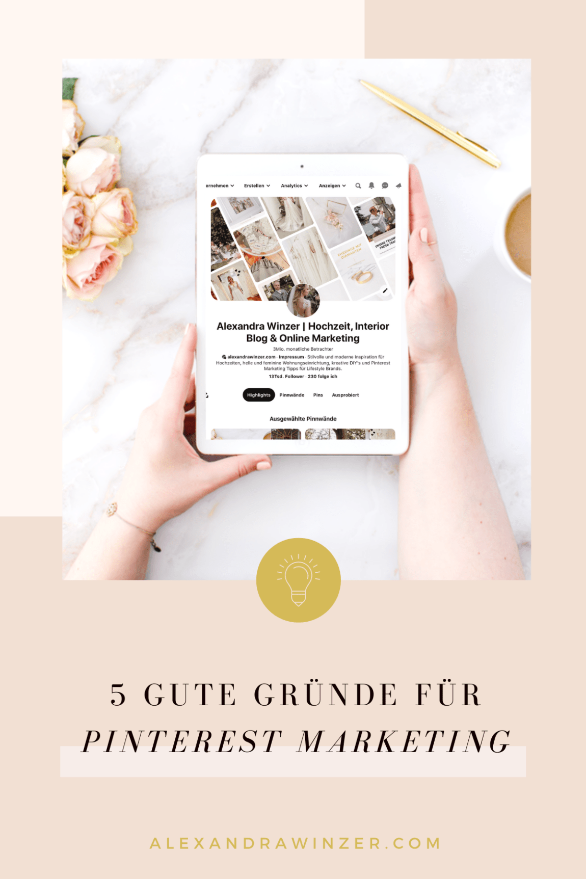 Pinterest Marketing 2020 Gute Gründe