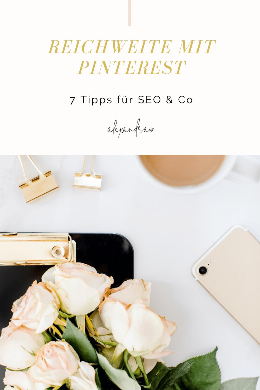 Reichweite mit Pinterest SEO Tipps & Co