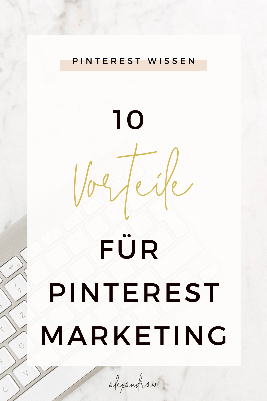 Vorteile von Pinterest Marketing