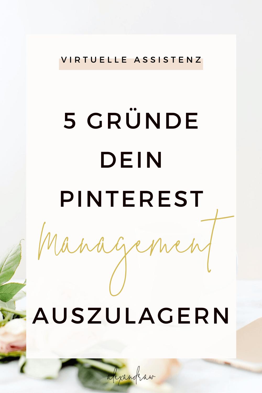 Pinterest Mangement outsourcen Alexandra Winzer