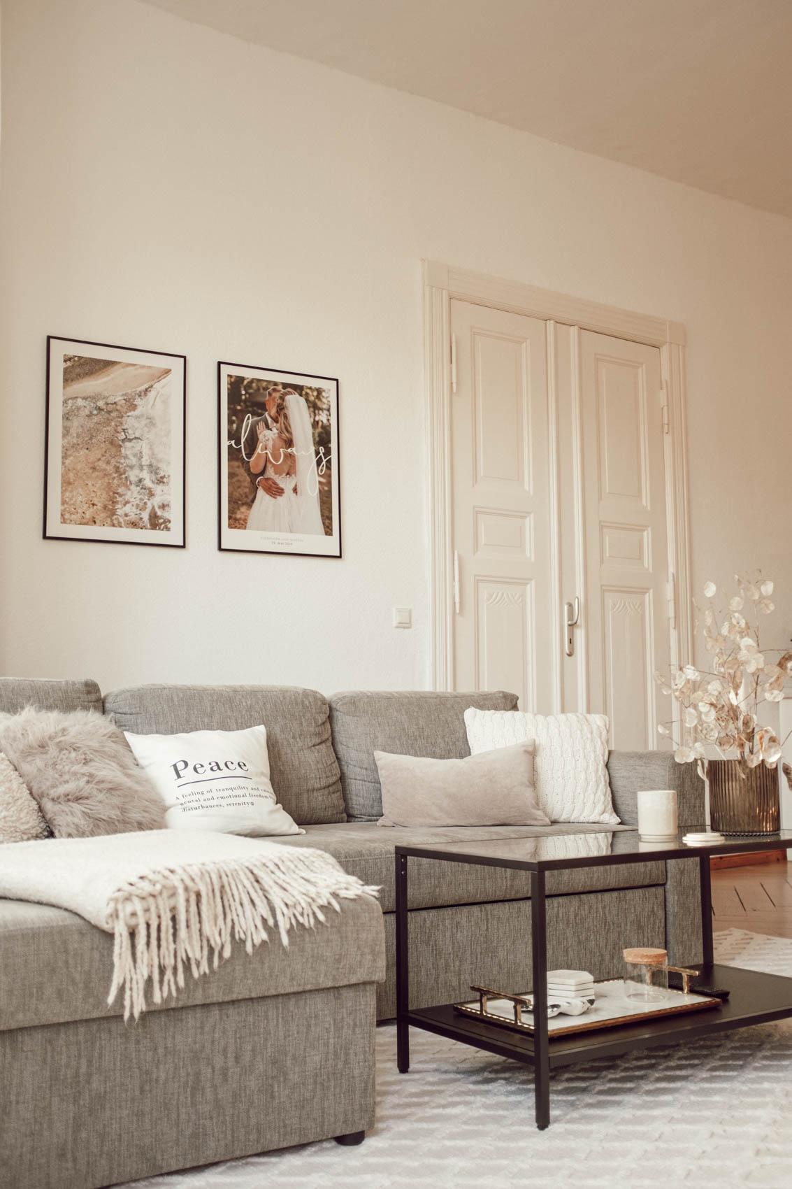 Wohnzimmer im Altbau
